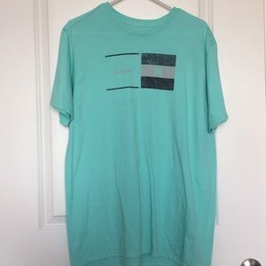 EUC | Hurley | T-shirt | Men's L | Teal/Gray